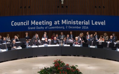 Signalétique évènementielle ESA Luxembourg 2014