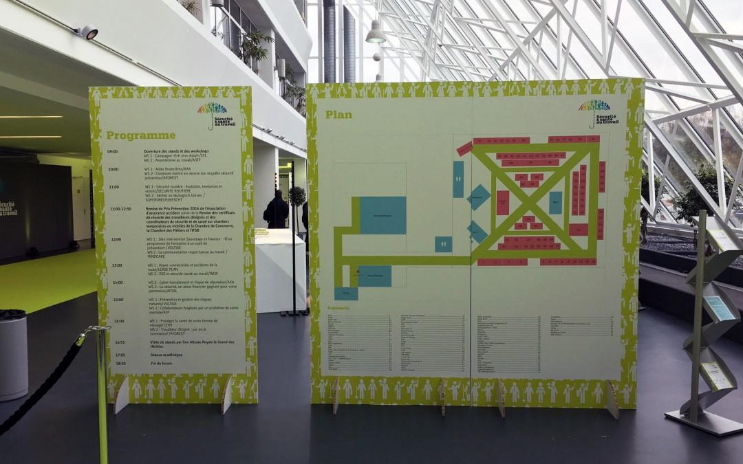 Décoration Forum Sécurité & Santé