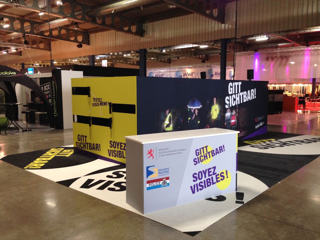 Stand panoramic mddi s curit routi re et police luxvisual for Stand parapluie occasion
