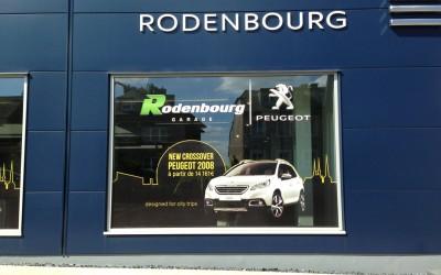 Vitrine Rodenbourg pour la Peugeot 2008