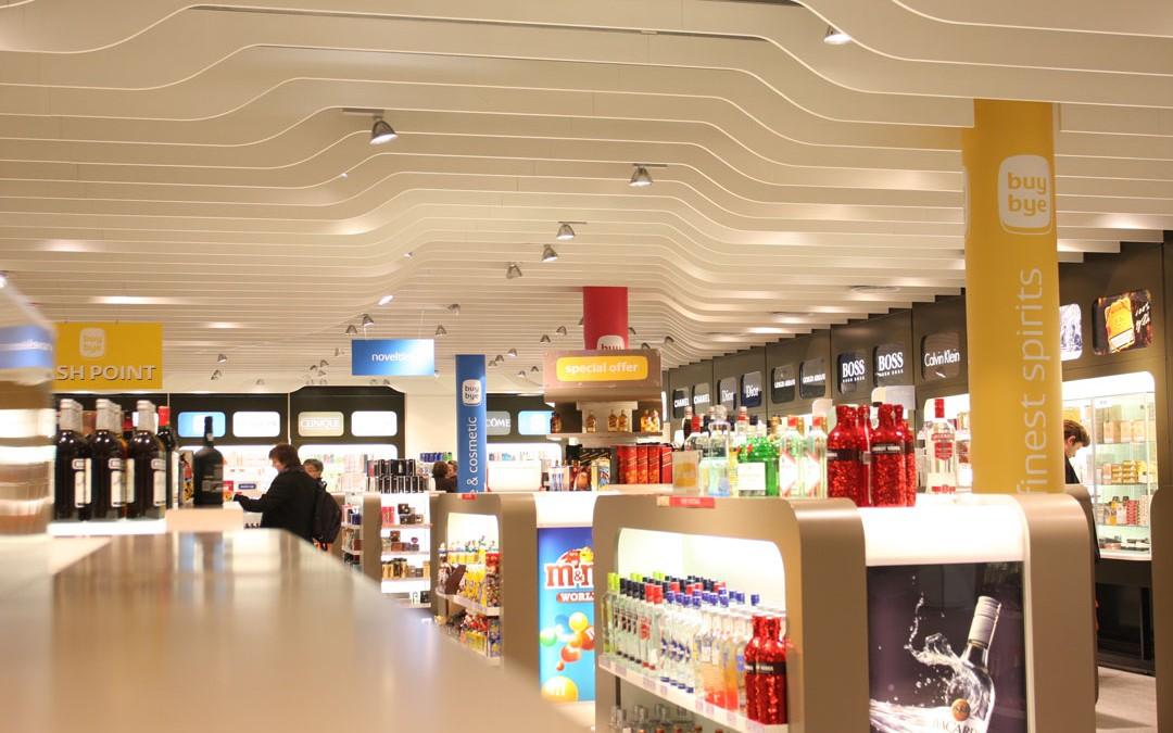 Signalétique Point de Vente Luxair Buy Bye Shops