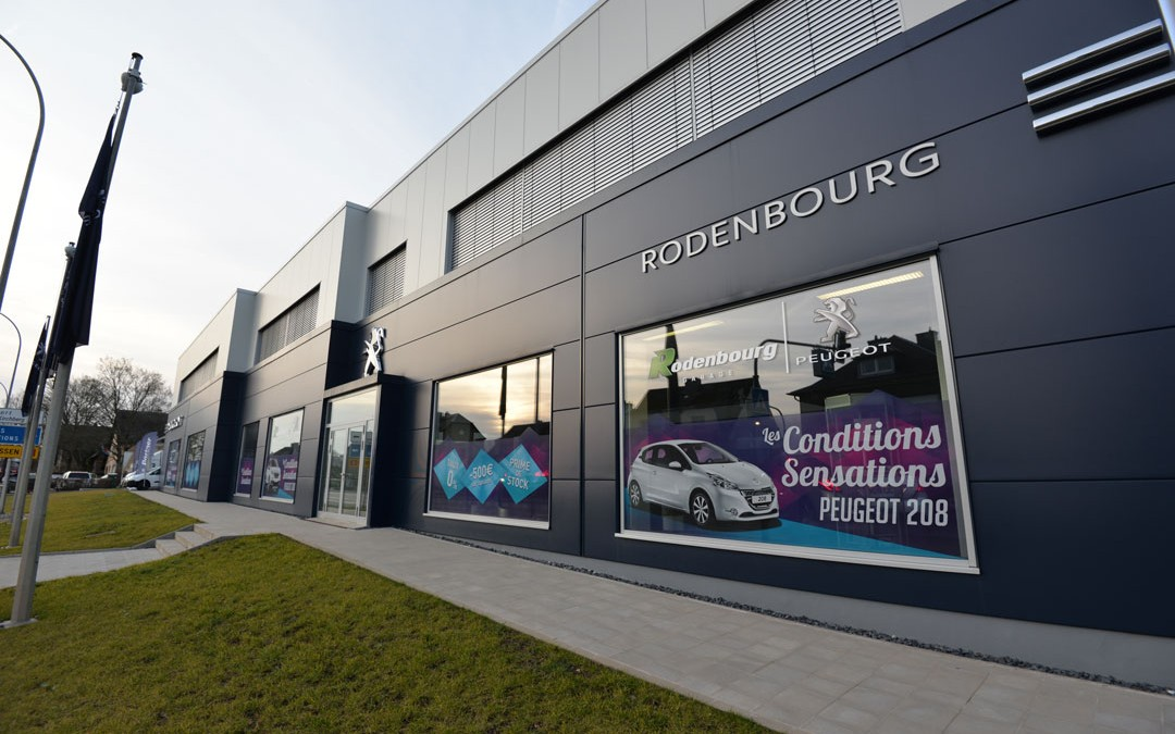 Vitrine Rodenbourg pour la 208